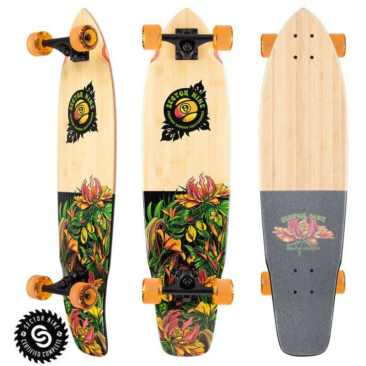Sector 9 Eden Ft. Point Complete Longboard