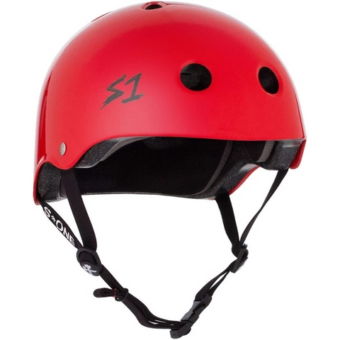 S-One Lifer Red Gloss Helmet