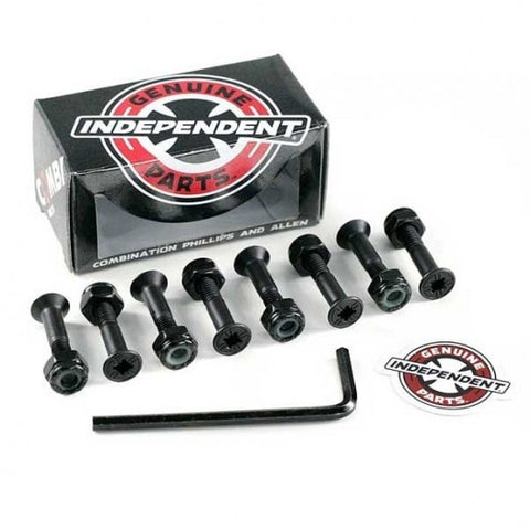 Independent Combi Bolts Black 1""