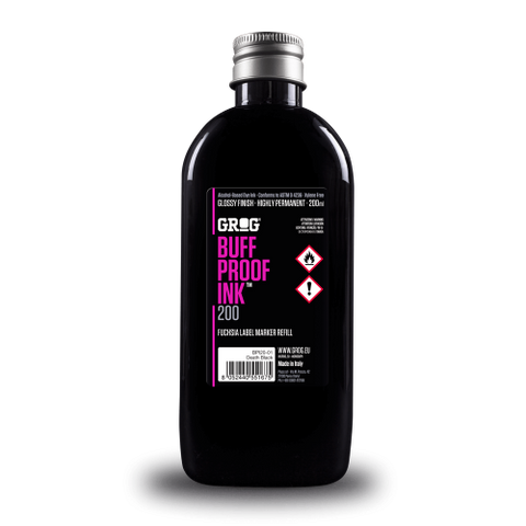 Grog Buff Proof Ink 200ml Death Black