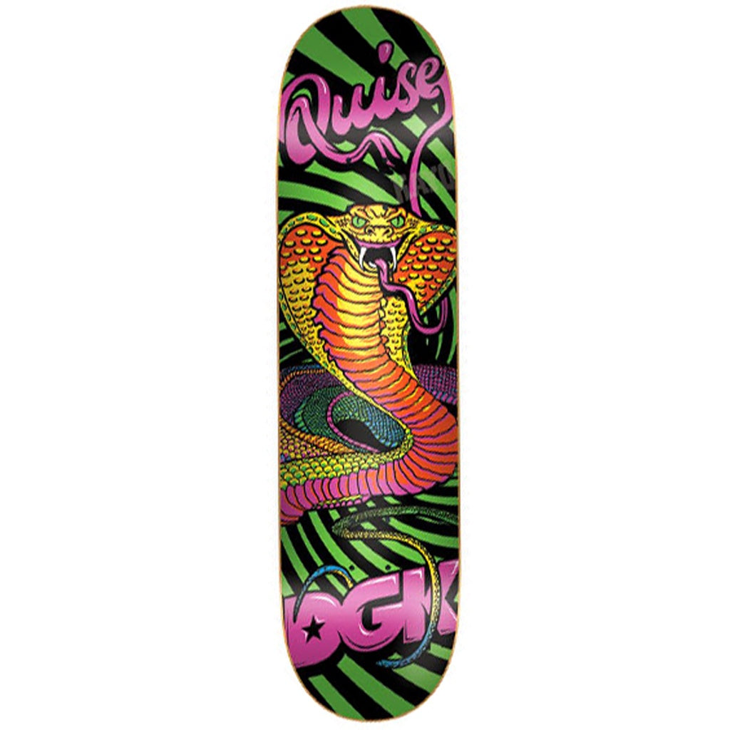 DGK Black Light Marquise Henry Skate Deck 7.8