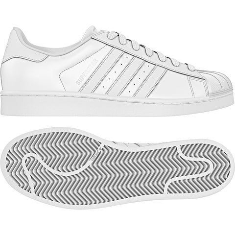 Adidas Superstar White/White/White