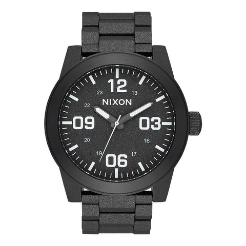 Nixon Corporal SS Watch All Black/White