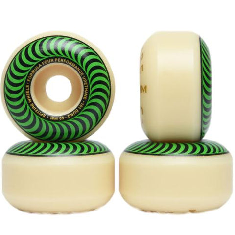 Spitfire Formula Four Classic Green Wheels 101A 52mm