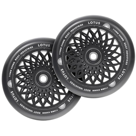 Root Industries Lotus Wheels 110mm Black 2-Pack