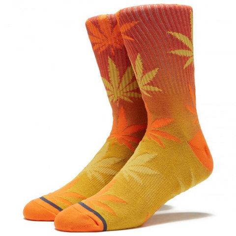 Huf Plantlife Gradient Socks Rust