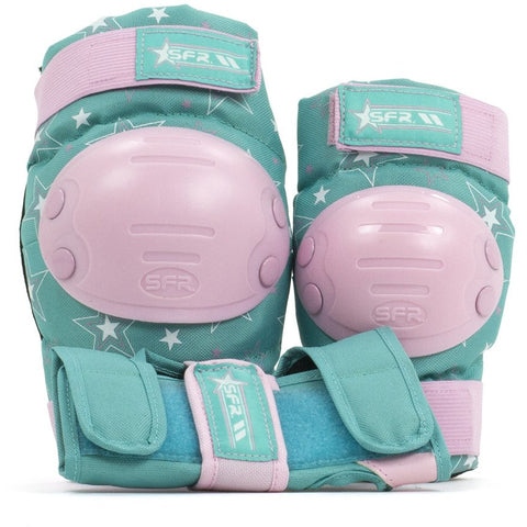 SFR Triple Pad Set - STAR - Pink Green