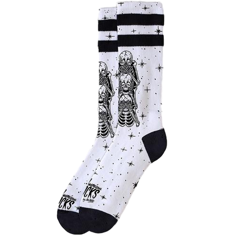 American Socks Signature Wise Monkeys Mid