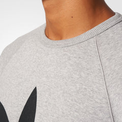 Adidas Originals Trefoil Crew Grey