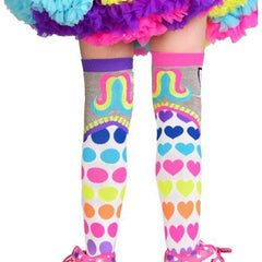 MADMIA Happy Unicorn w Horn (aged 6-Adult) Knee High Socks