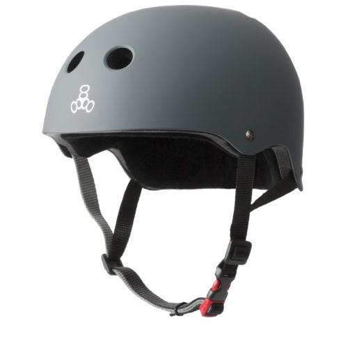 Triple 8 THE Certified Helmet SS Carbon Rubber