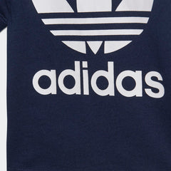 Adidas Originals Trefoil Toddler Tee Blue/White