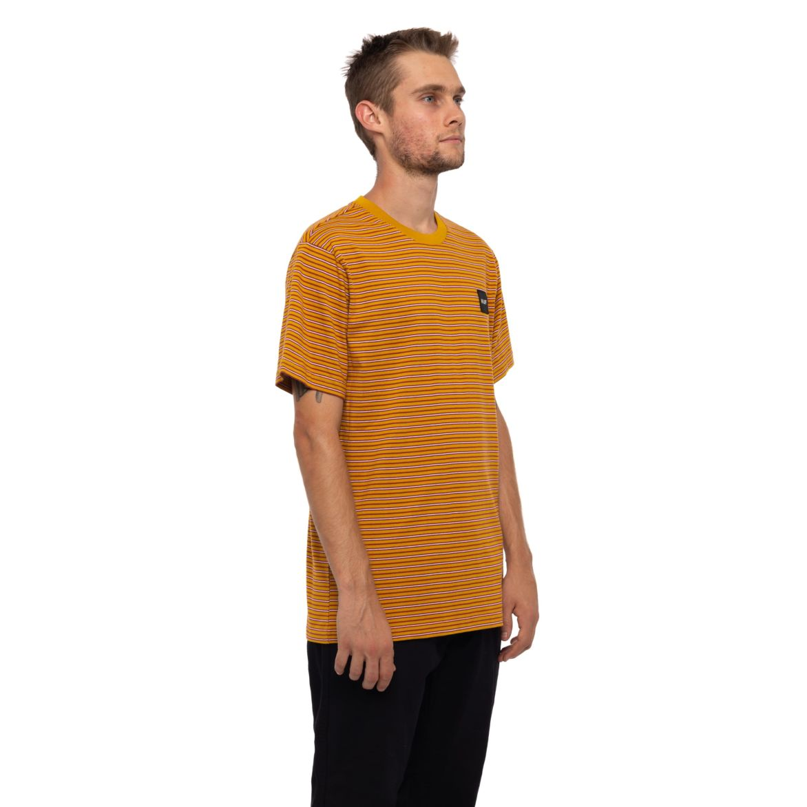 Huf Dazed S/S Knit Top Sauterne
