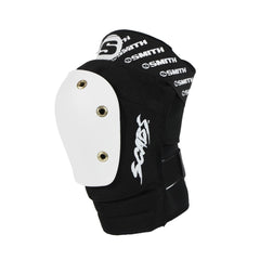 Smith Scabs Elite Knee Pad Black w White Caps