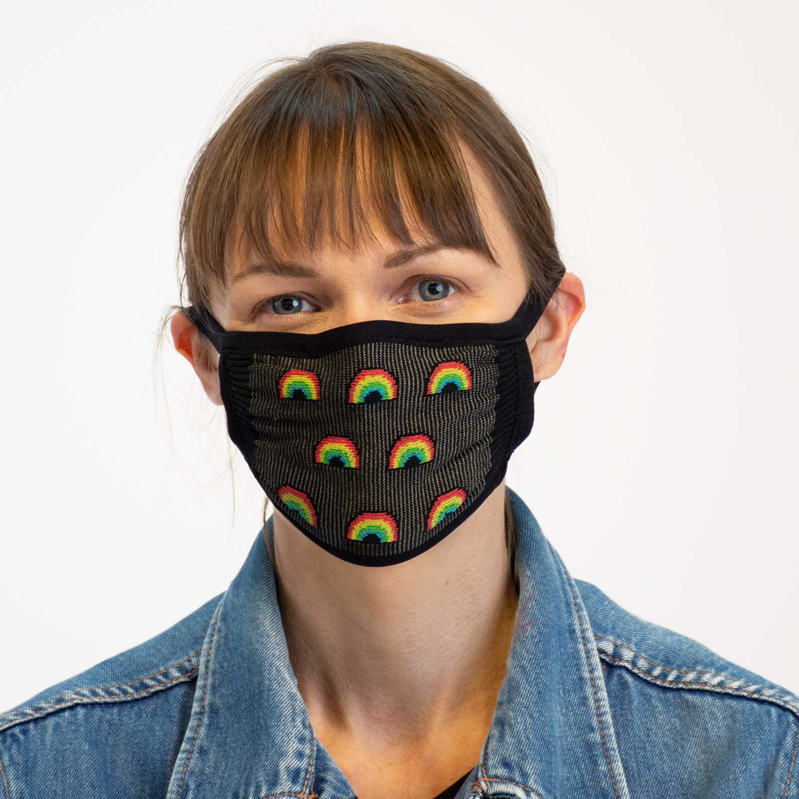 Sock it to Me Classic Black Reusable Adult Face Masks