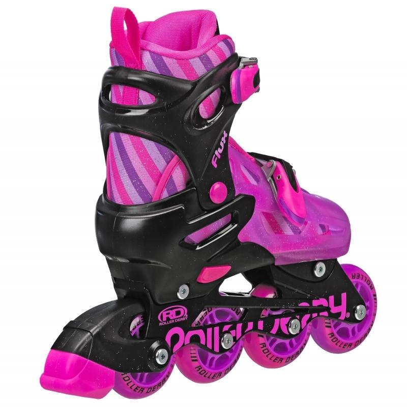 RDS Flux Girls Small Adjustable Quad/Inline Skates