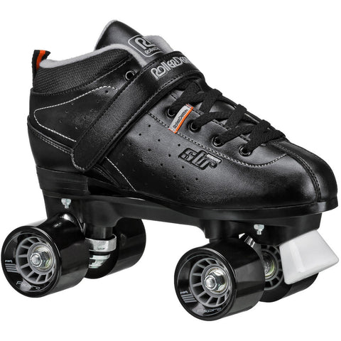RDS STR-7 Black/Grey Mens Roller Skates