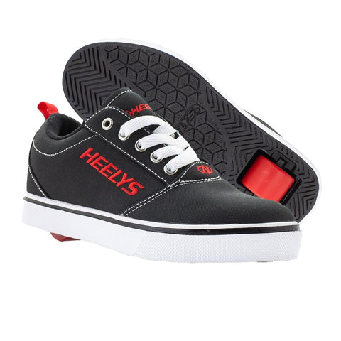 Heelys Pro 20 Black/White/Red Shoes