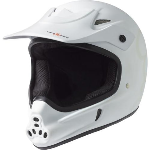 Triple 8 Invader Full Face Helmet White Gloss