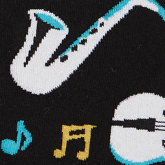 Sock it to Me All That Jazz Mens Crew Socks