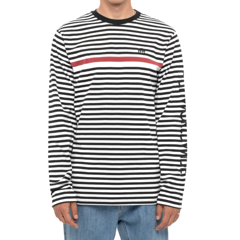 Huf Morris Long Sleeve Knit Top Black