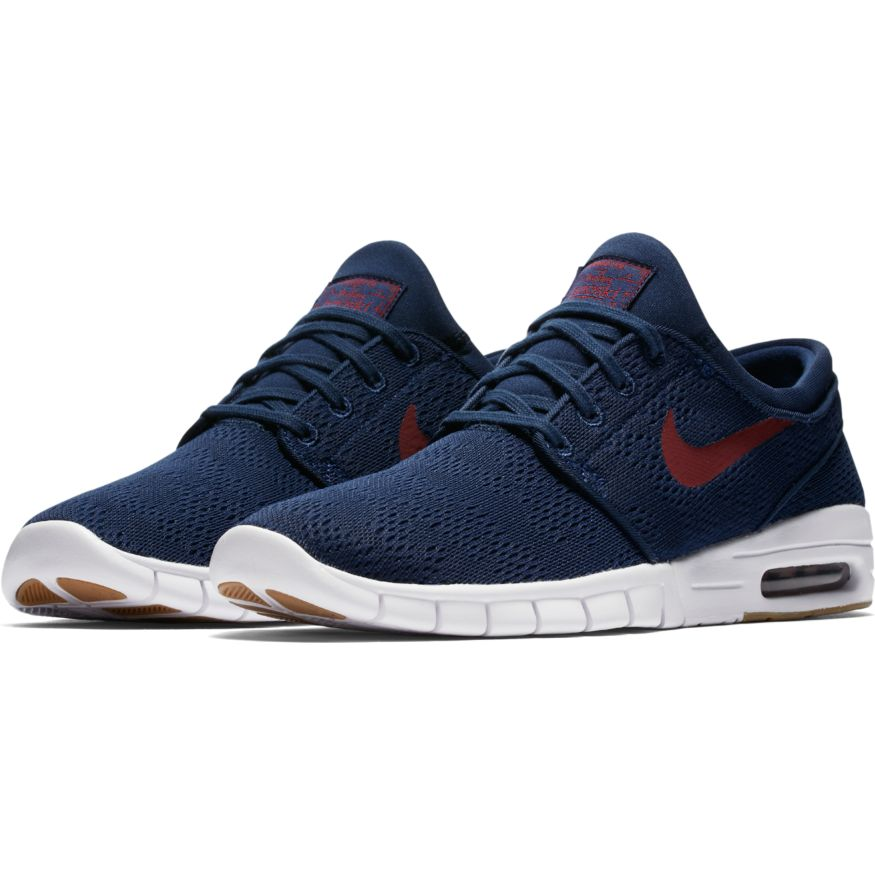 Nike SB Stefan Janoski Max Binary Blue/Team Red