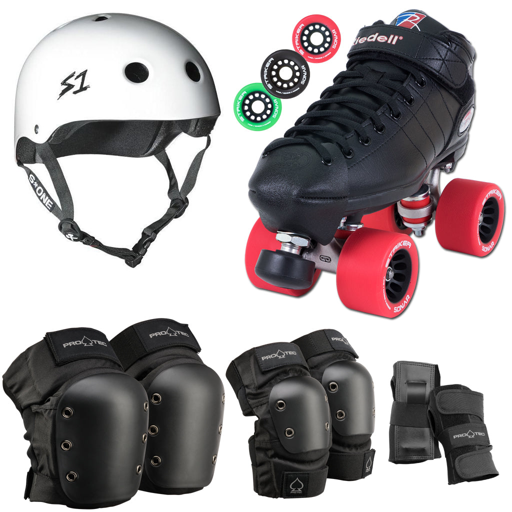Roller Derby Fresh Meat Package 3 (Riedell R3 Derby / Pro-Tec / S-One)