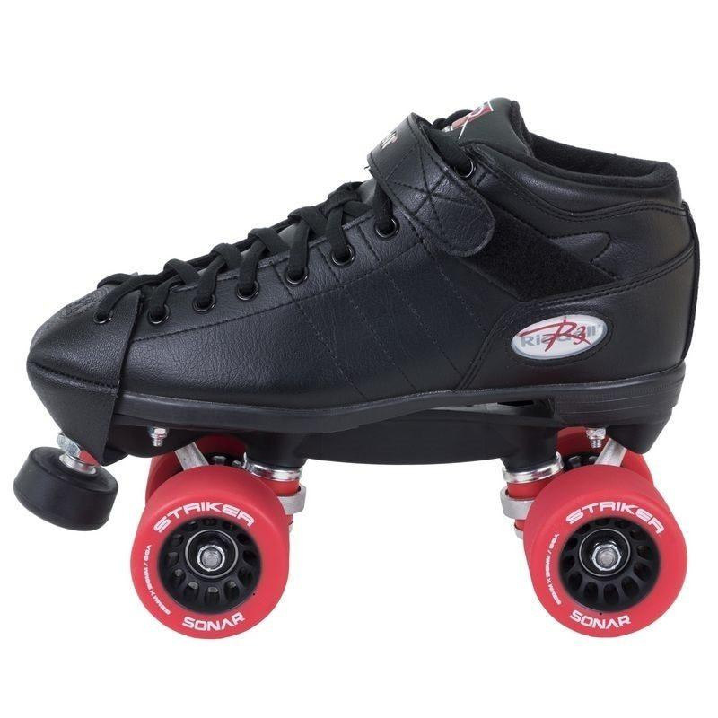 Riedell R3 Skate Derby - Striker Wheels & Toe Caps