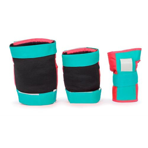 Rio Protective Pad Set - Red Mint
