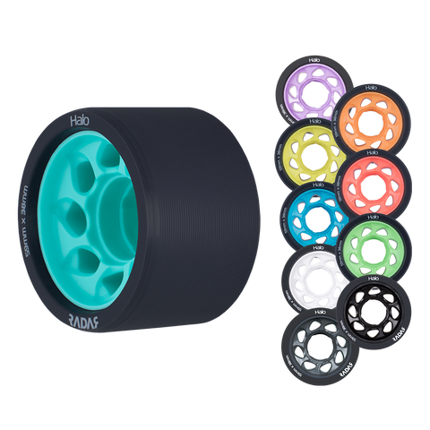 Radar Halo Wheels 59mm 4 Pack
