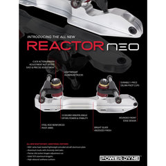 Riedell 265 Wicked Skate - Neo Reactor Plate
