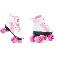 Rio Pure Roller Skates White and Pink