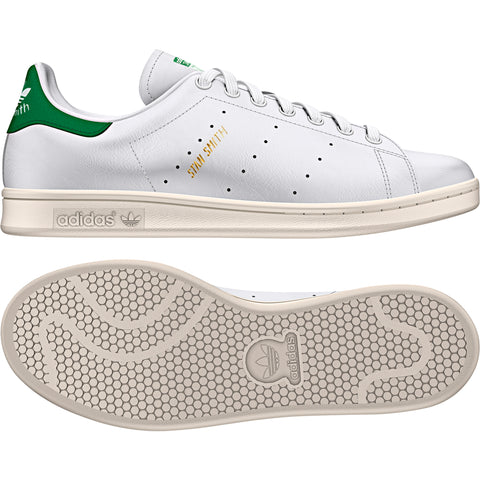 Adidas Originals Stan Smith White/White/Green