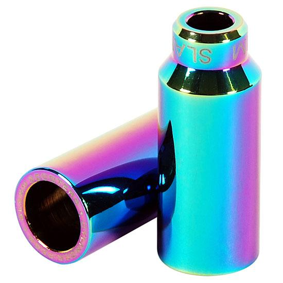 Slamm Scooters Cylinder Pegs Neo Chrome