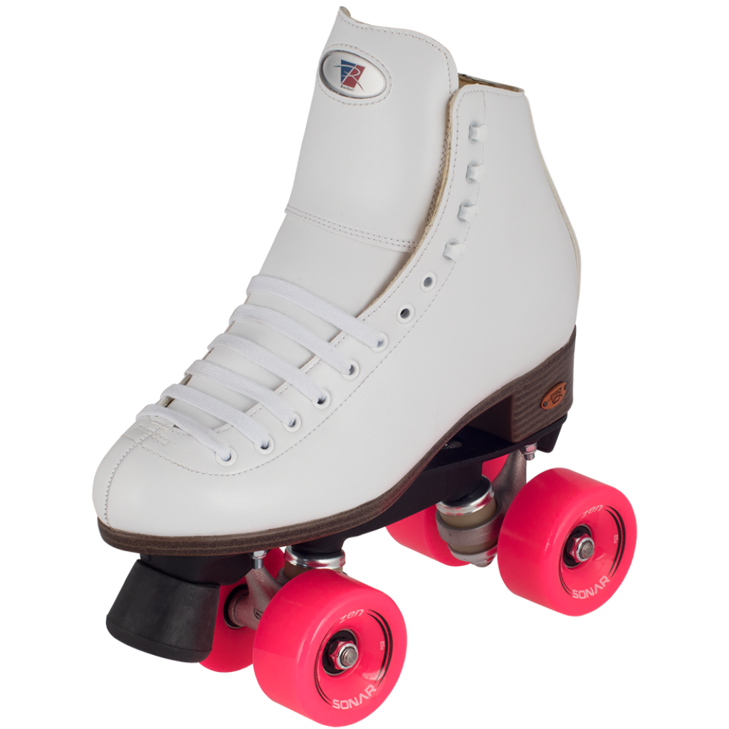 Riedell 111 Citizen Skate White w Zen Wheels