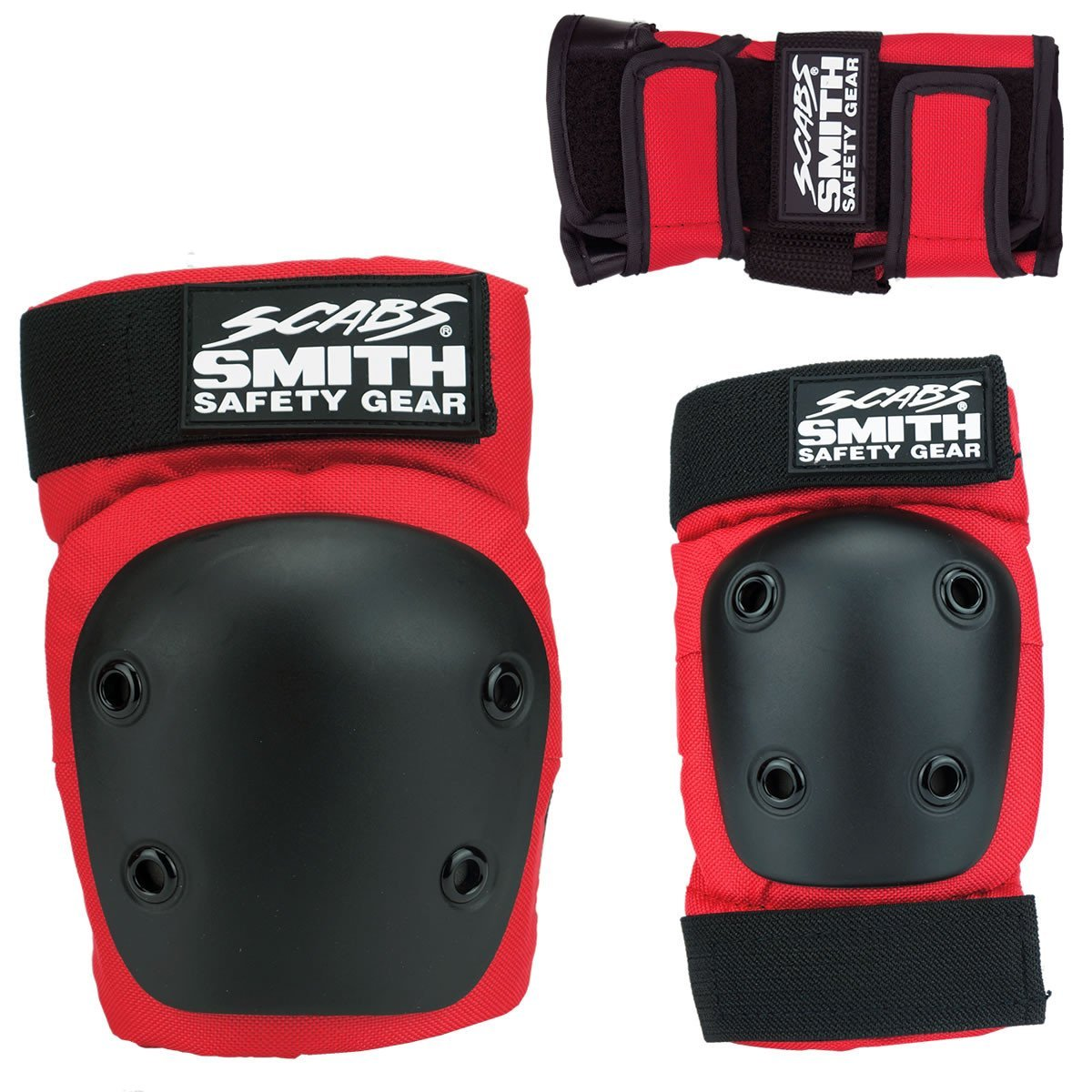 Smith Scabs Youth Tri Pack Red