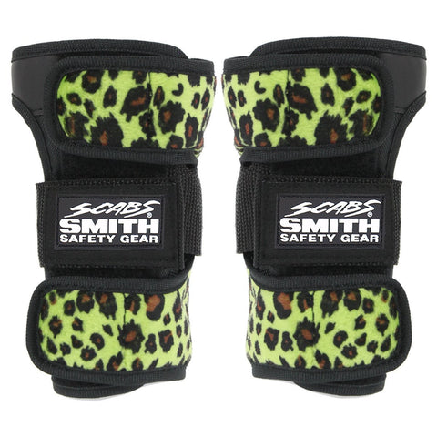 Smith Scabs Wrist Guards Leopard Green