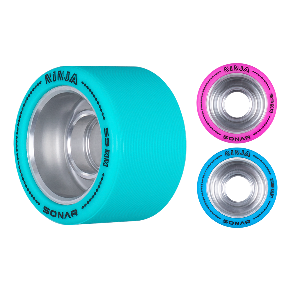 Radar Ninja Agile Wheels 59mm x 38mm 4 Pack