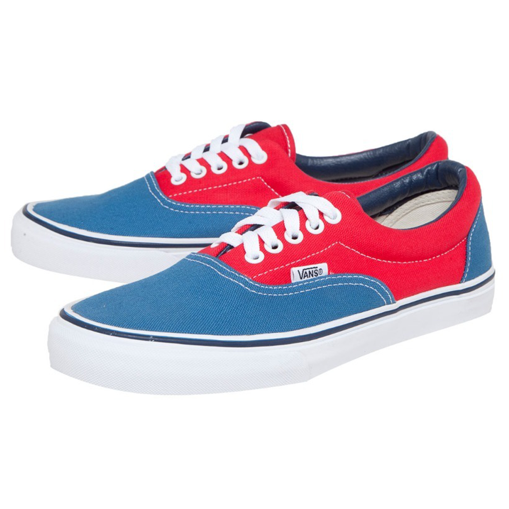 Vans Era Youth (Golden Coast) Deep Water True Red b35f04e3b