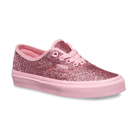 Vans Authentic Toddler (Shimmer) Bright Pink