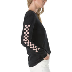 Vans Half Checked Long Sleeve Tee Black