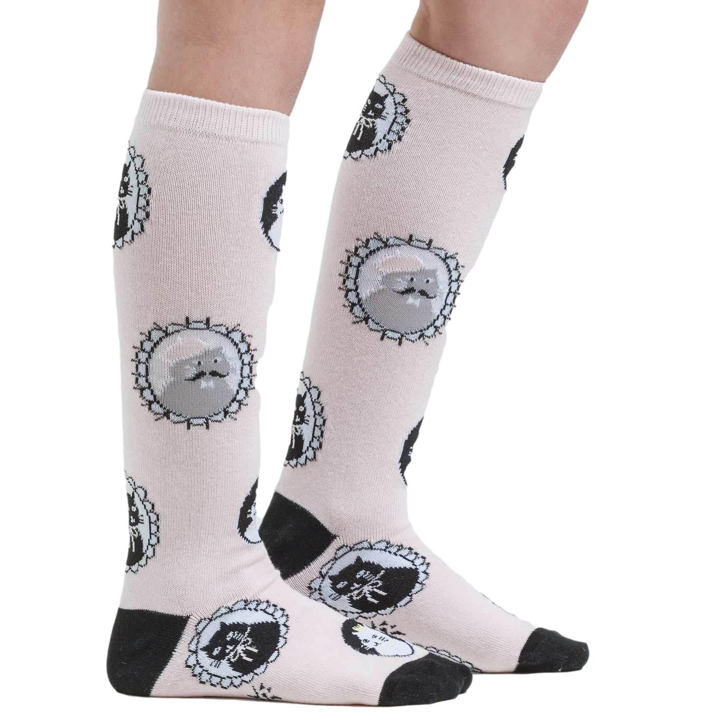 Sock it to Me Cameow Youth (aged 3-6) Knee High Socks