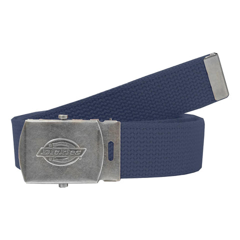 f85a100d2ded Dickies 30mm Cotton Web Belt Navy