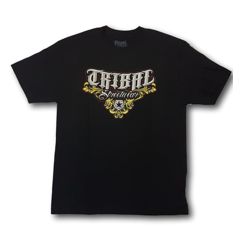 Tribal M5 Bevel Tee Black
