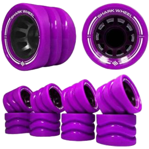 Shark Rollerskate Wheels (8 Pack)