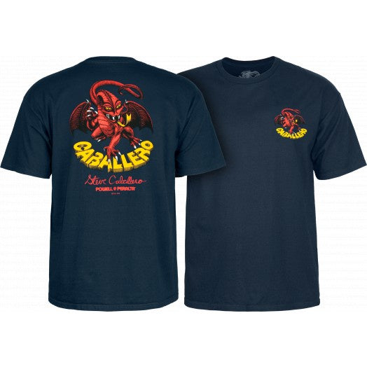 Powell Peralta Original Caballero Dragon Navy Tee