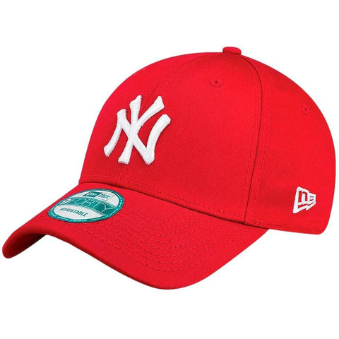 New Era 9Forty Adjustable Cap New York Yankees Red