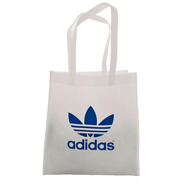 Adidas Trefoil Shopping Bag White