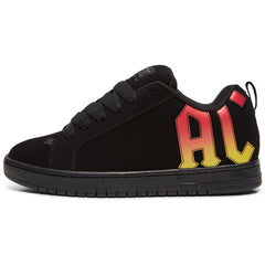 DC Court Graffik AC/DC Mens Shoe Black/Gradient