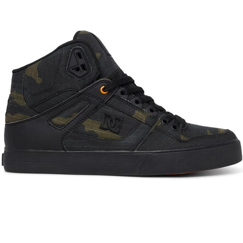 DC Pure High-Top WC TX SE Shoe Camo/Russet Orange